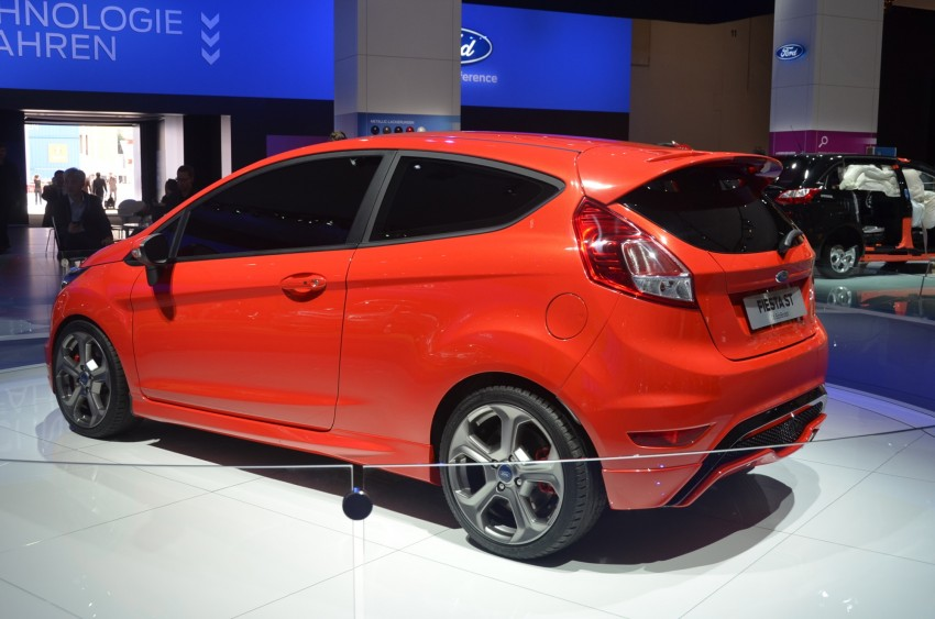 Frankfurt: Ford's Fiesta ST Concept takes centre stage Image #69297
