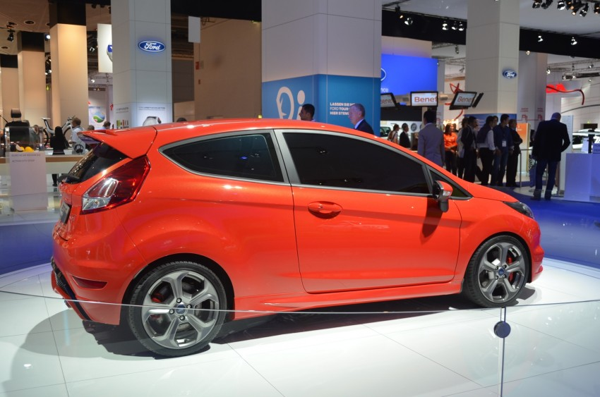 Frankfurt: Ford's Fiesta ST Concept takes centre stage Image #69301