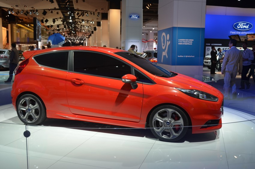 Frankfurt: Ford's Fiesta ST Concept takes centre stage Image #69302