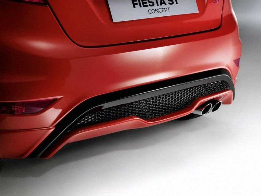 Frankfurt: Ford's Fiesta ST Concept takes centre stage Image #69195