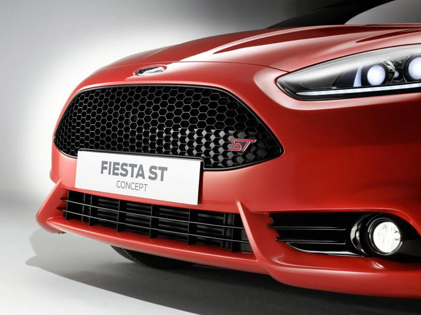 Frankfurt: Ford's Fiesta ST Concept takes centre stage Image #69203