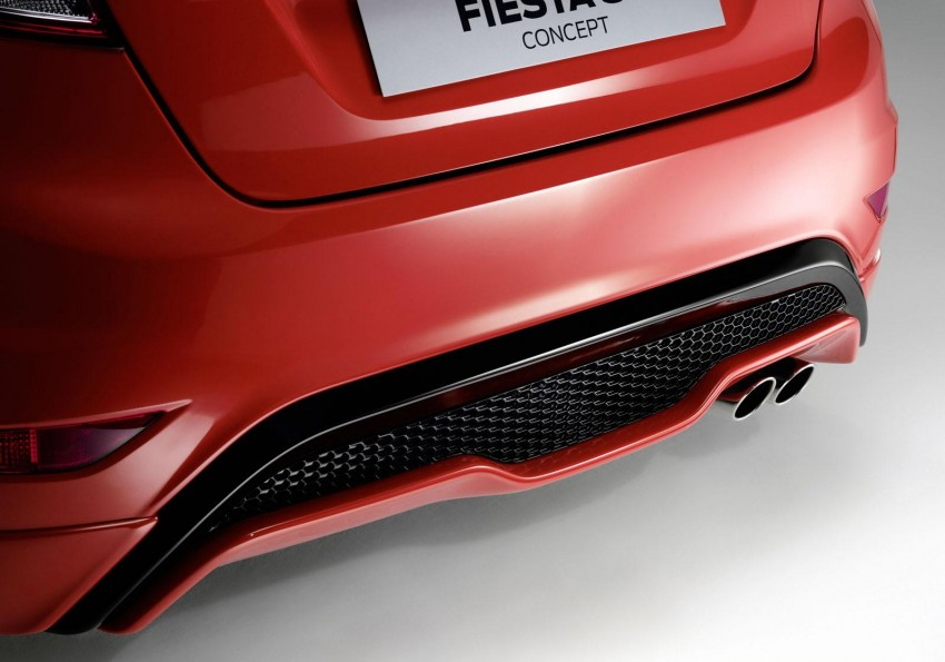 Frankfurt: Ford's Fiesta ST Concept takes centre stage Image #69205
