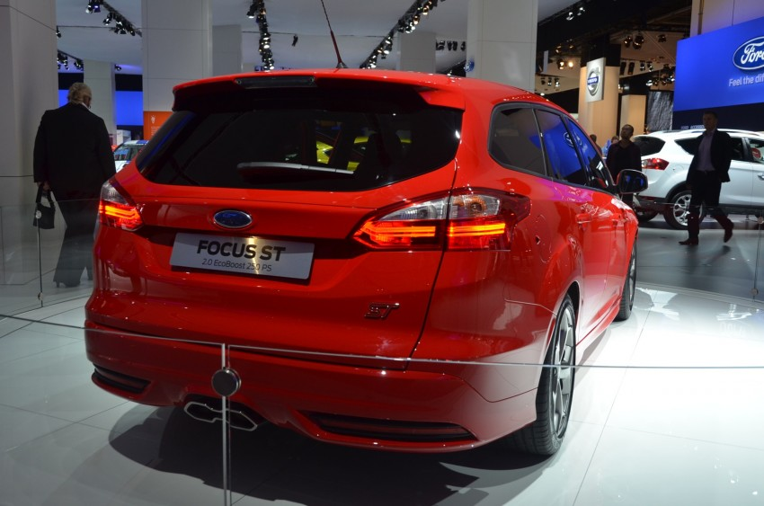 Frankfurt: Ford reveals the 2012 Focus ST and ST-R Image #69416