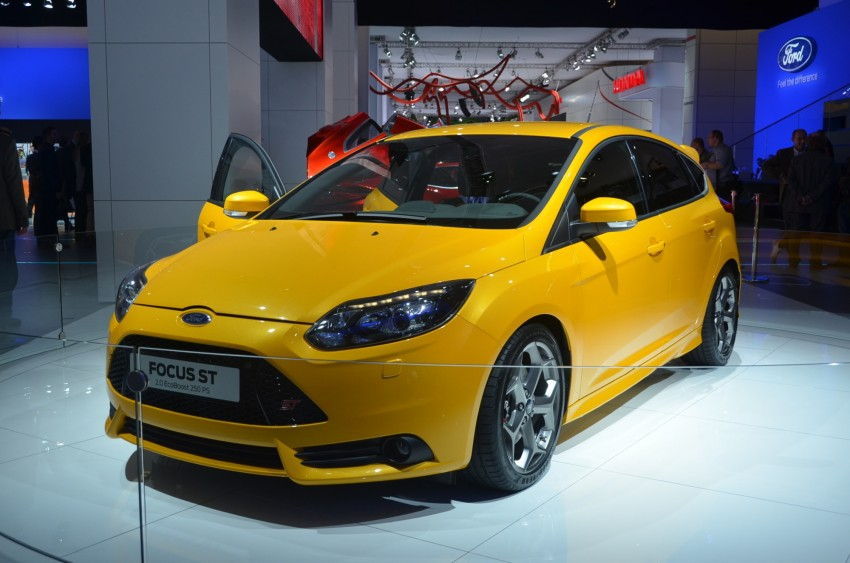 Frankfurt: Ford reveals the 2012 Focus ST and ST-R Image #69392