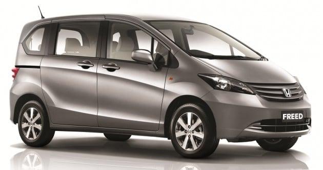 Honda Freed New Grade S Variant Debuts Rm100k