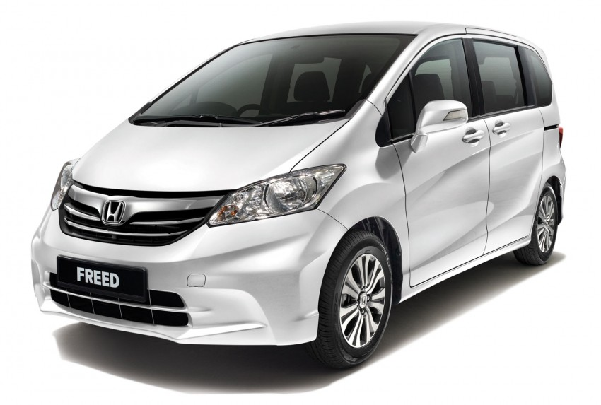 Honda Freed MPV facelifted – RM99,800 to RM113,500 Image #151846