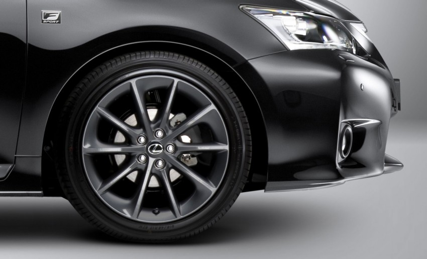 Lexus CT200h F Sport variant launched – RM207k Image #134391