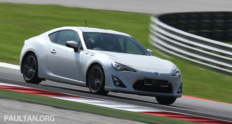 Toyota 86 officially launched in Malaysia – manual going for RM243k, auto RM249k – we try it! Image #109672