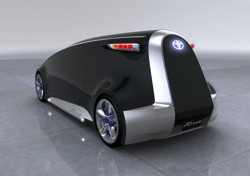 Tokyo 2011: Toyota shows off the Fun-Vii concept Image #78634