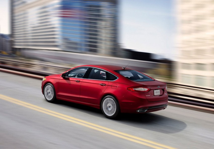 New Ford Fusion previews next-gen Mondeo for the world Image #82941