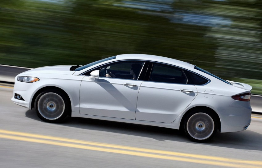 New Ford Fusion previews next-gen Mondeo for the world Image #82942