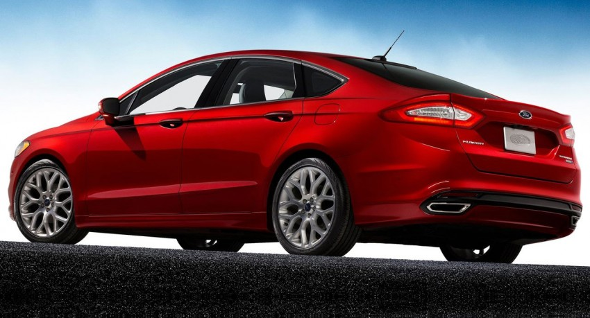 New Ford Fusion previews next-gen Mondeo for the world Image #82950