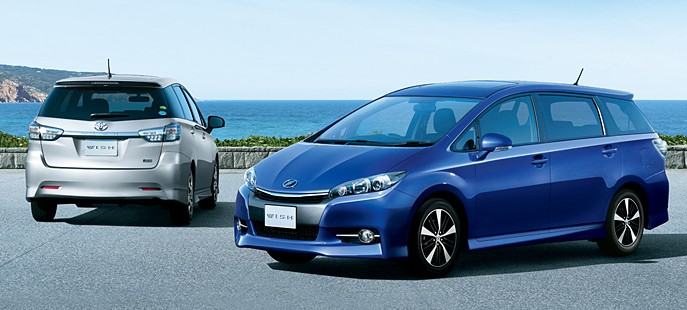 Toyota Wish facelift for 2012 on sale in Japan Image #106788