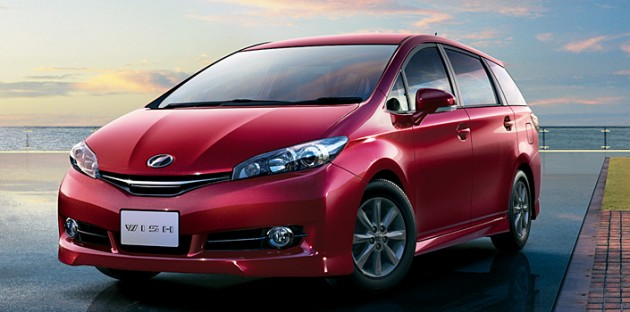 Toyota Wish Facelift For 2012 On Sale In Japan