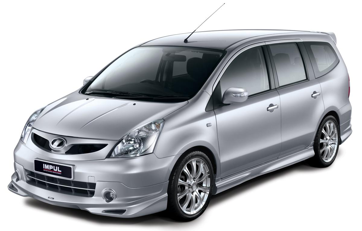 Nissan Grand Livina Tuned By Impul Premieres