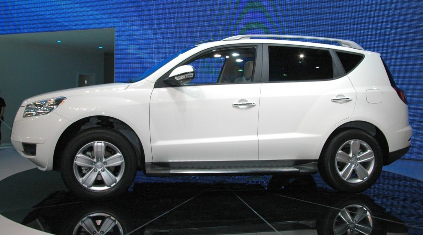 Geely GX7 SUV – the GLEagle has landed Image #105295