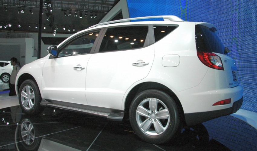 Geely GX7 SUV – the GLEagle has landed Image #105297