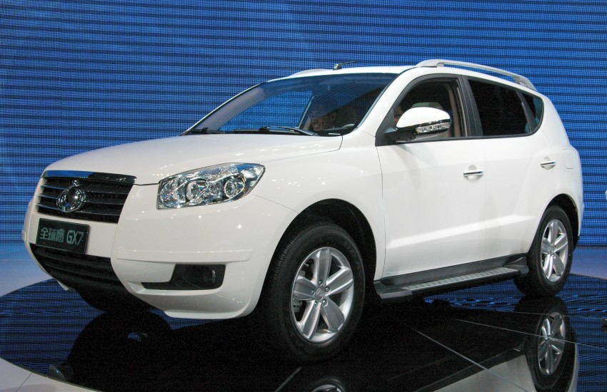 Geely GX7 SUV – the GLEagle has landed Image #105299