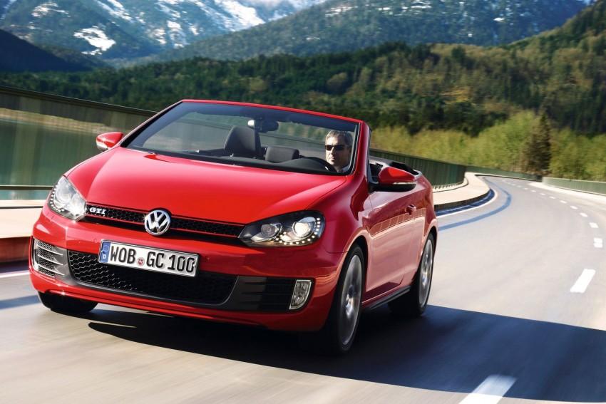 Volkswagen Golf GTI Cabriolet – soft top GTI Image #109110