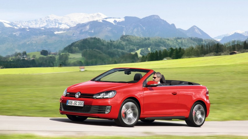 Volkswagen Golf GTI Cabriolet – soft top GTI Image #109119