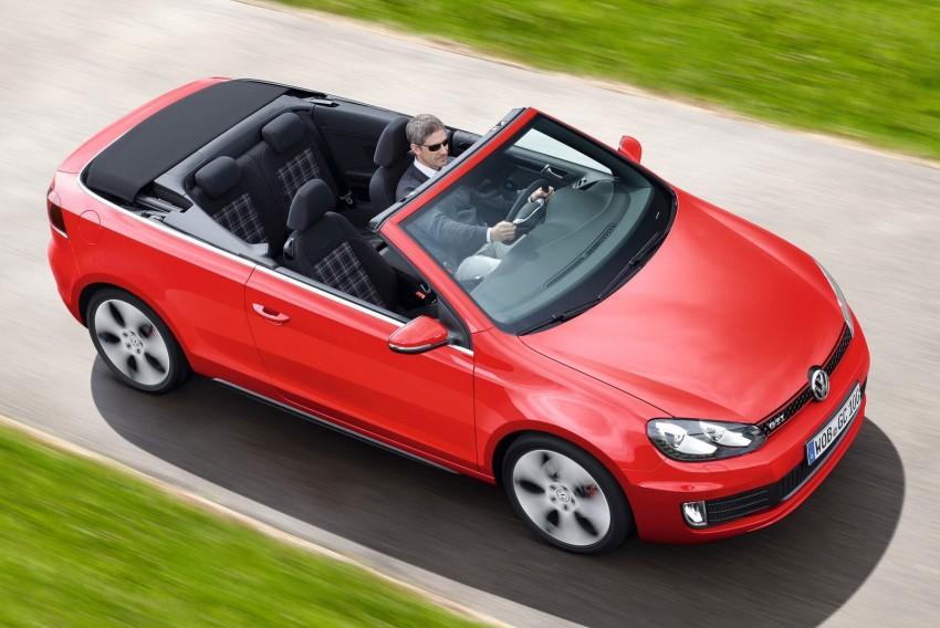 Volkswagen Golf GTI Cabriolet – soft top GTI Image #109120