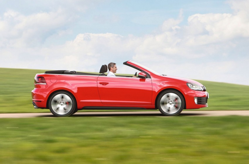 Volkswagen Golf GTI Cabriolet – soft top GTI Image #109121
