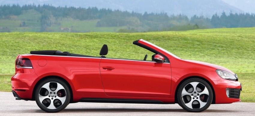 Volkswagen Golf GTI Cabriolet – soft top GTI Image #109122