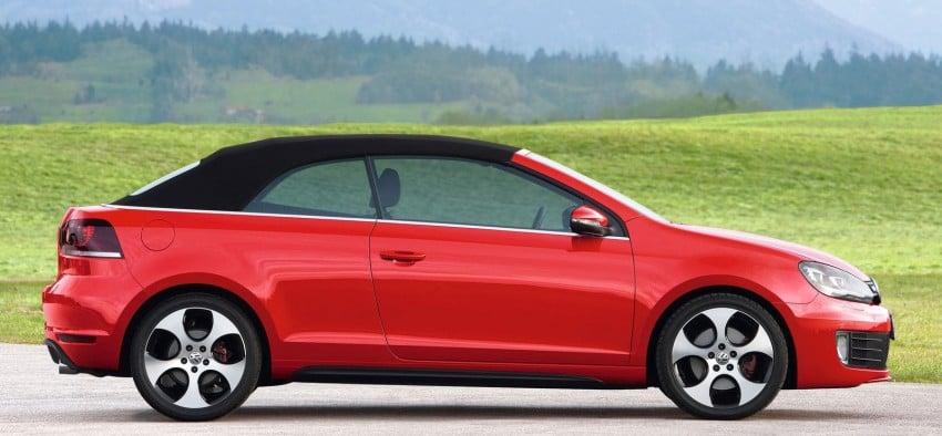 Volkswagen Golf GTI Cabriolet – soft top GTI Image #109123
