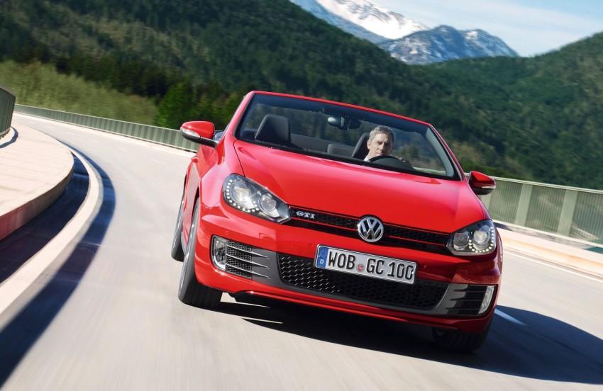 Volkswagen Golf GTI Cabriolet – soft top GTI Image #109131