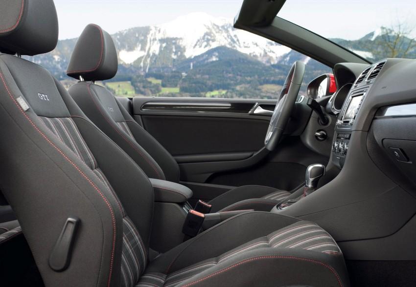 Volkswagen Golf GTI Cabriolet – soft top GTI Image #109135