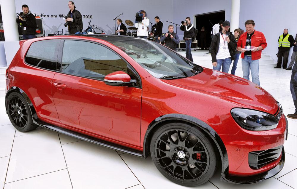 Volkswagen Golf Gti Excessive Concept At Worthersee Paultan Org