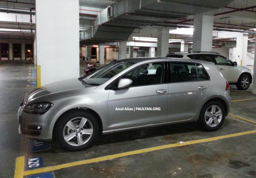 SPYSHOTS: Volkswagen Golf Mk7 TSI in Malaysia! Image #155025