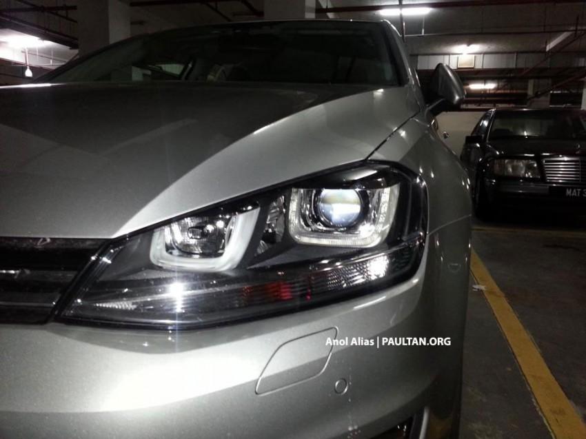 SPYSHOTS: Volkswagen Golf Mk7 TSI in Malaysia! Image #155026