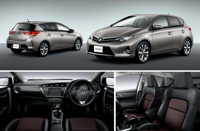 2013 Toyota Auris C-segment hatchback unveiled! Image #126134