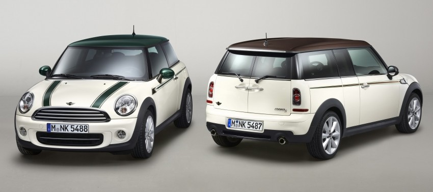 MINI introduces Hyde Park and Green Park design themes Image #101484