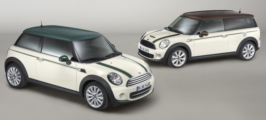 MINI introduces Hyde Park and Green Park design themes Image #101485