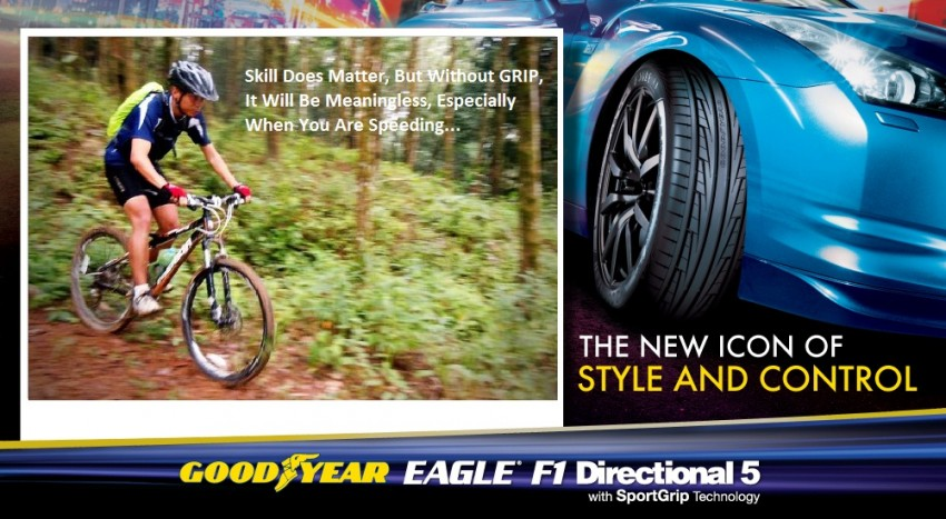 2 weeks remaining for you to win a set of Goodyear Eagle F1 Directional 5 tyres with the Get The Grip Contest! Image #137641