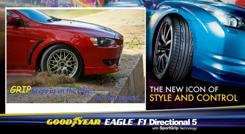 2 weeks remaining for you to win a set of Goodyear Eagle F1 Directional 5 tyres with the Get The Grip Contest! Image #137643