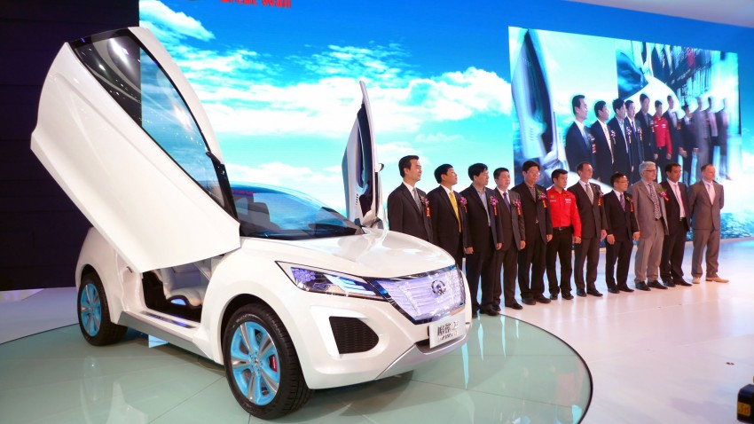 Great Wall Haval E SUV debuts, scissor doors and all Image #102527