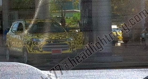 headlight ford ecosport 2