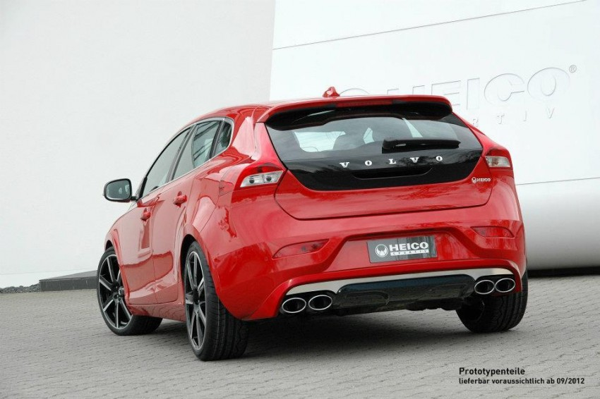 Heico tuned Volvo V40 looking good – 270 PS now Image #112609