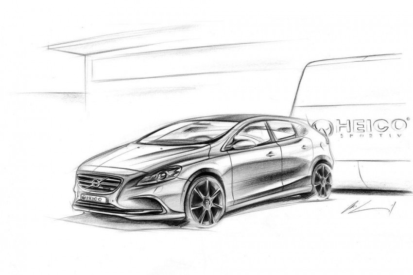 Heico tuned Volvo V40 looking good – 270 PS now Image #112611