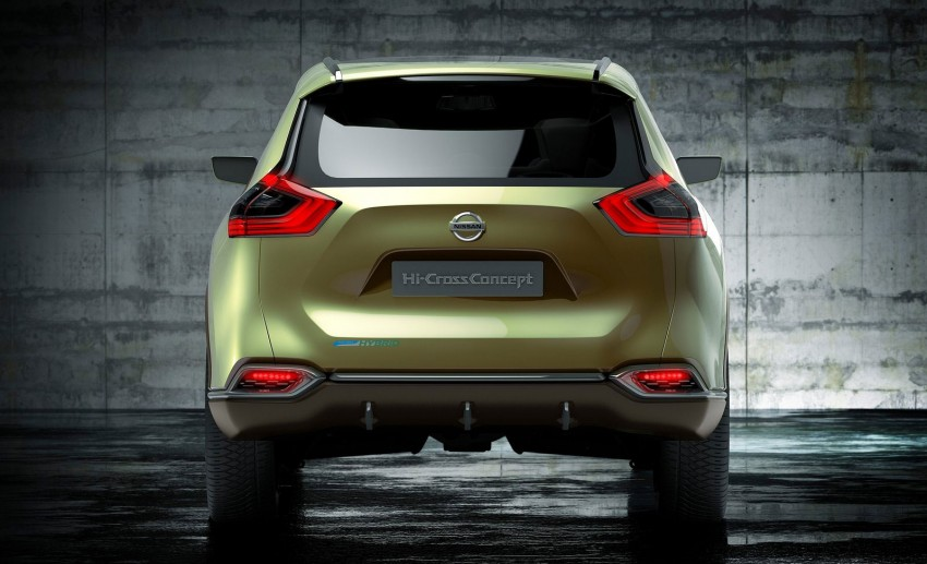 Nissan Hi-Cross Concept previews seven-seat crossover Image #91526