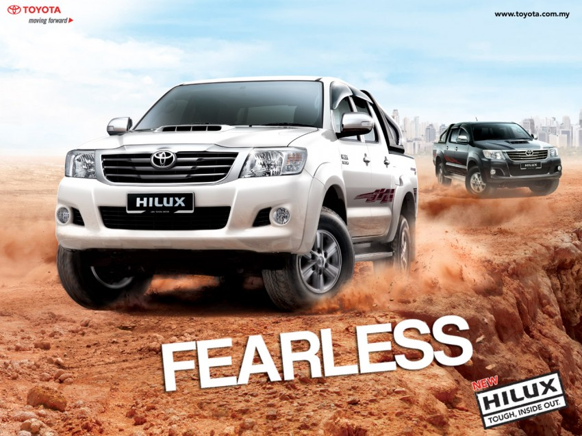 Toyota Hilux and Fortuner – 2.5L VNT D-4D intercooled engine 2012 MY versions coming, order books open Image #125075