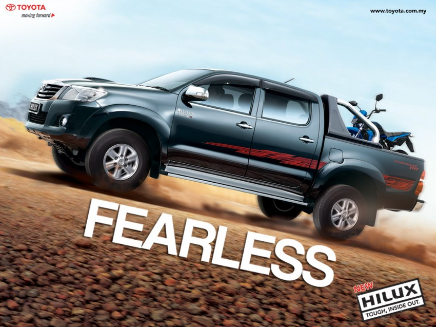 Toyota Hilux and Fortuner – 2.5L VNT D-4D intercooled engine 2012 MY versions coming, order books open Image #125076