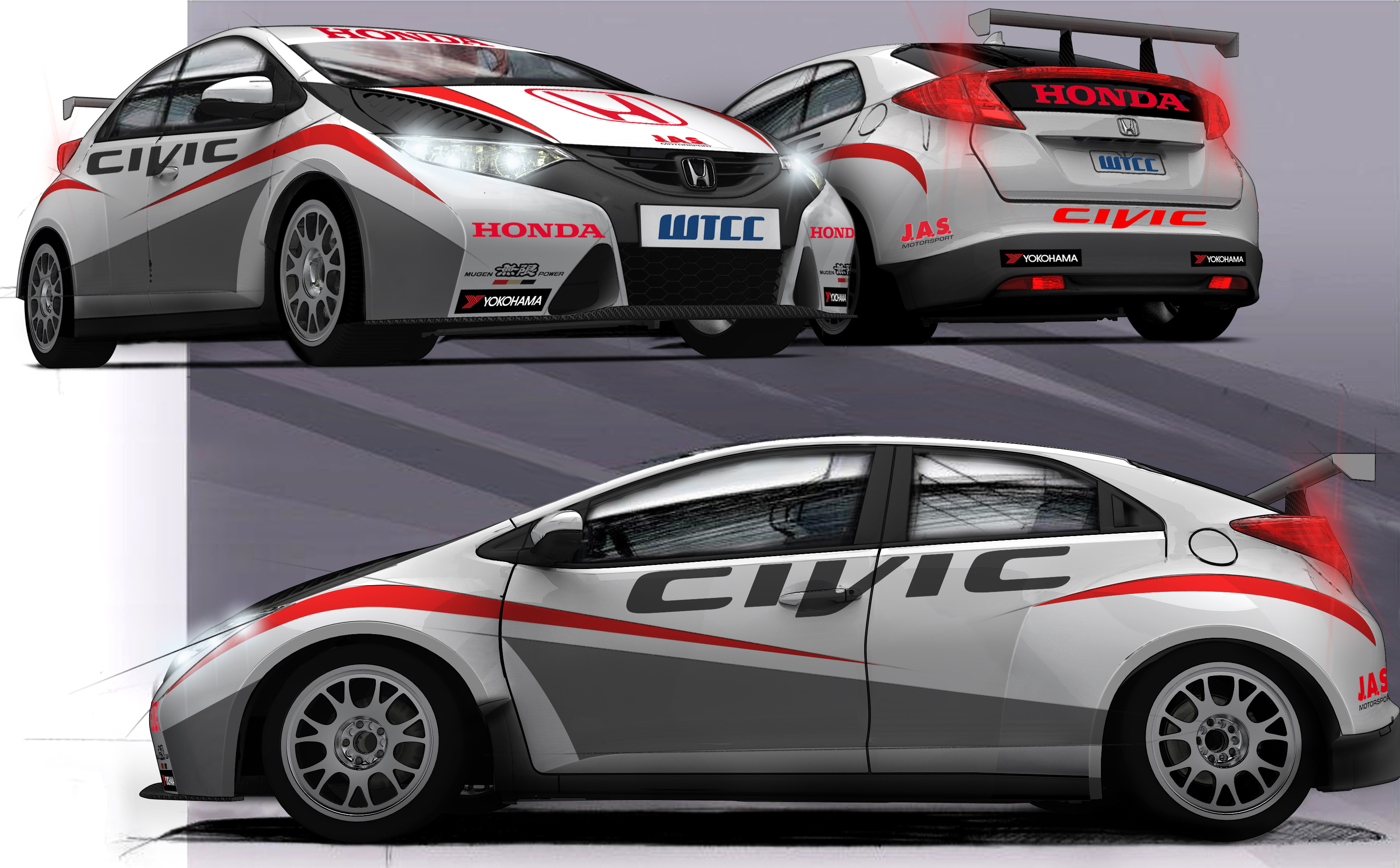 Honda Civic WTCC Coches WTCC 2012 Cars WTCC 2012