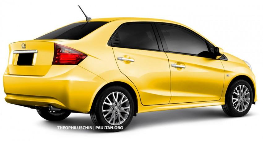 Honda Brio sedan in the works – debut in 2013? Image #58658