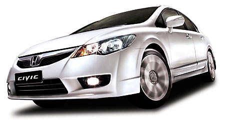 Honda Civic Tafetta White