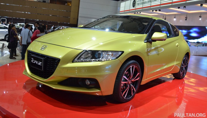 Honda CR-Z facelift makes world debut in Indonesia Image #132036