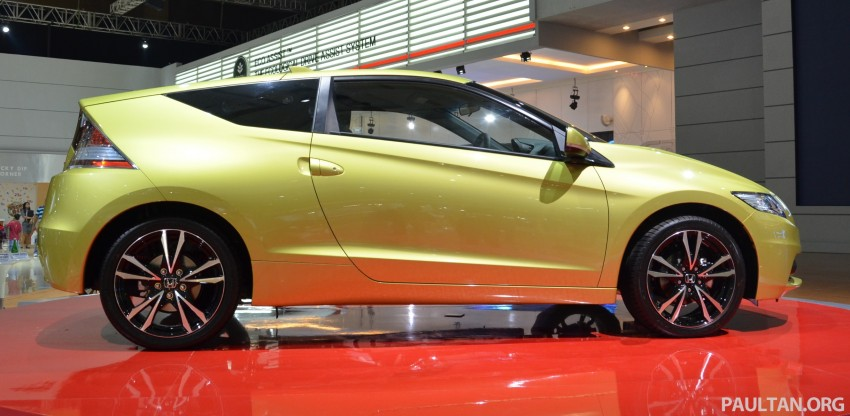 Honda CR-Z facelift makes world debut in Indonesia Image #132028